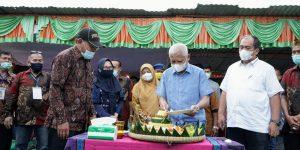 bupati asahan silaturahmi-komunitas bakso