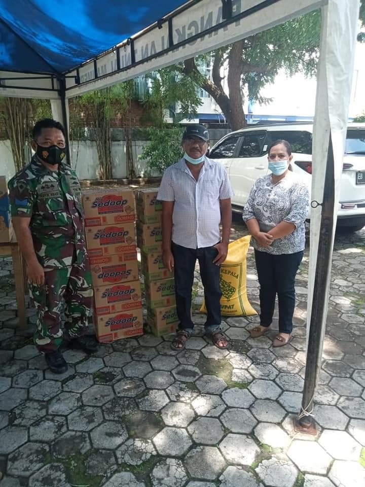 bantuan kemanusiaan lanal maumere