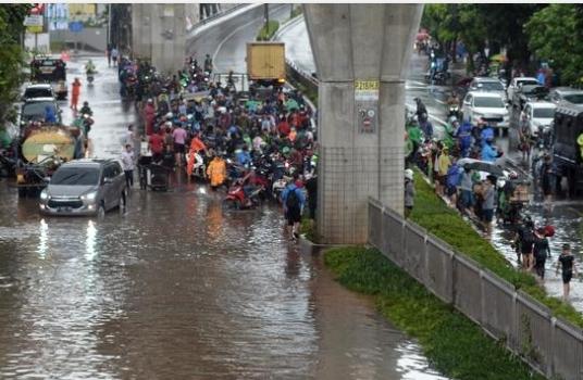banjir jakarta selatan