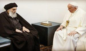 ayatollah ali paus fransiskus