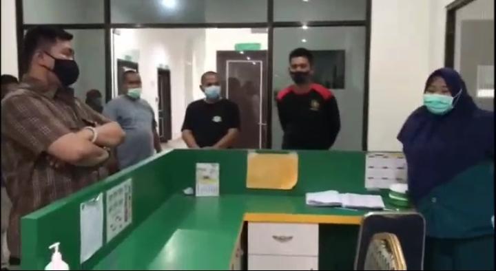 bupati labura sidak rumah sakit