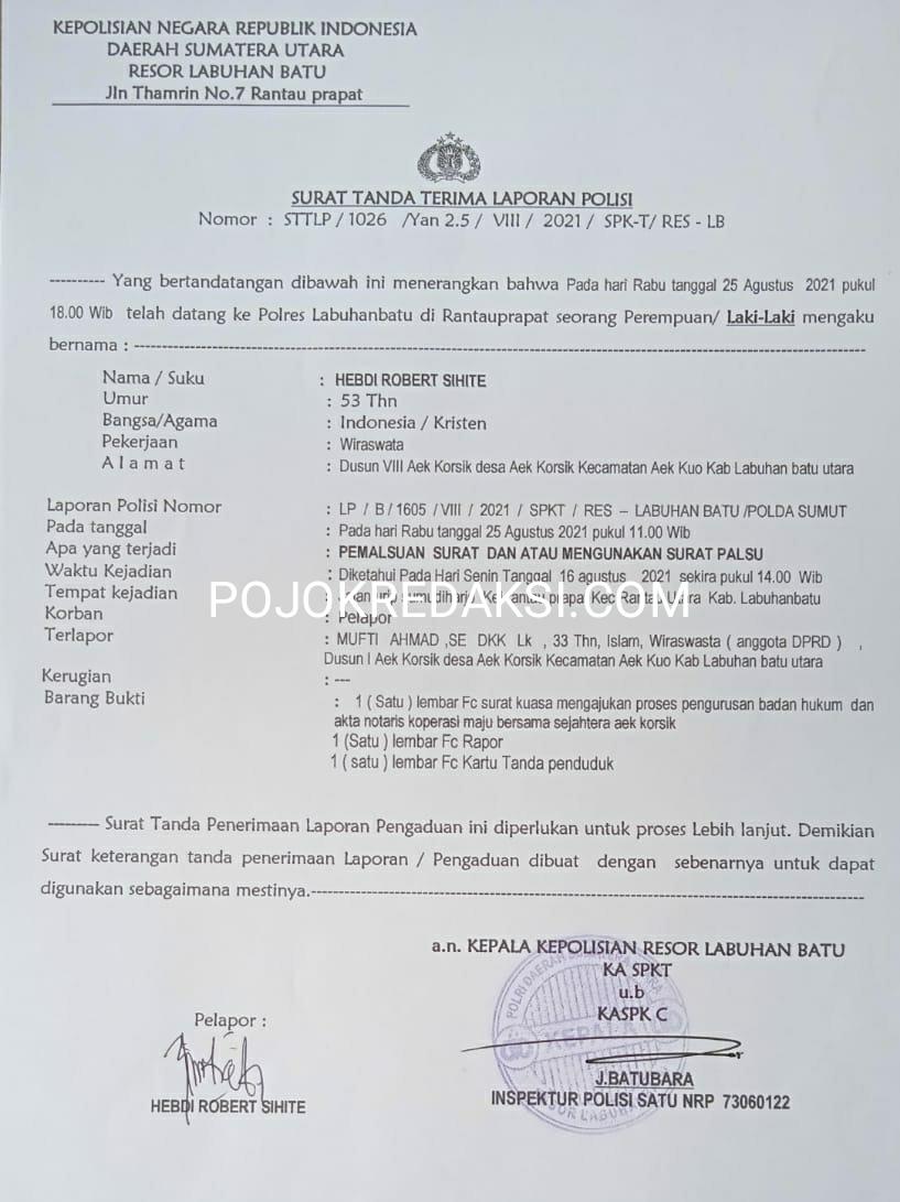 laporan polisi