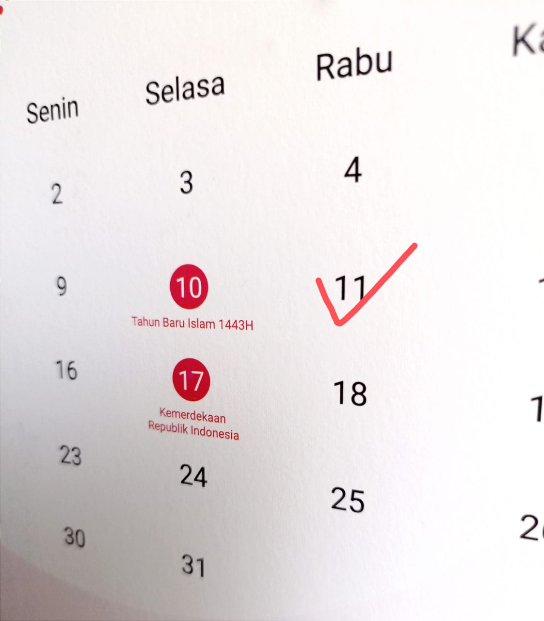 islam 1443 hijriah-pojok redaksi